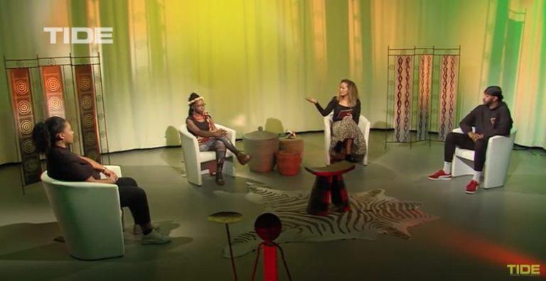 ADJE bei Africa Outlook auf Tide TV zum Thema Kids Empowerment